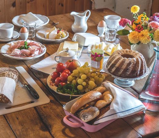 Frühstück bei Faber